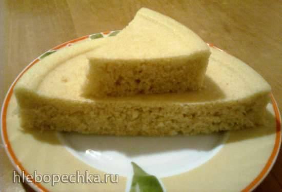 Кокосовый бисквит (кекс)