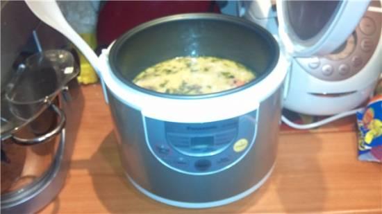 Суп грибной с плавленным сыром в мультиварке