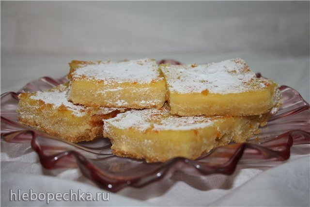 """Пирожное """"Апельсиновые квадратики"""""""