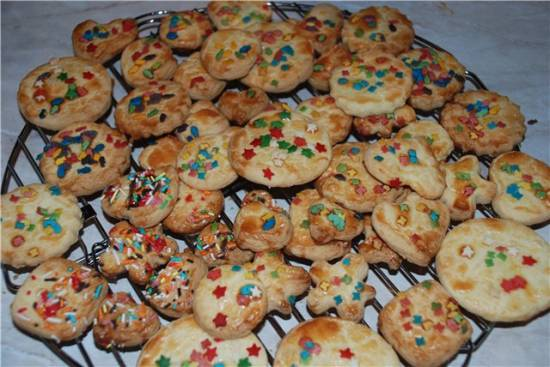 Печенье песочное простое