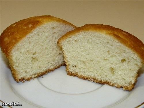 Капкейки белые (White Cupcakes)