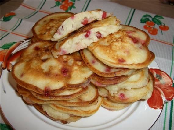 Оладьи с яблоками в духовке