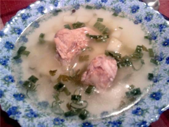 Суп из лосося(Cuckoo 1054)