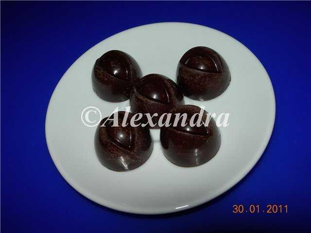 Конфеты шоколадные двухслойные «Смородиновое ассорти»
