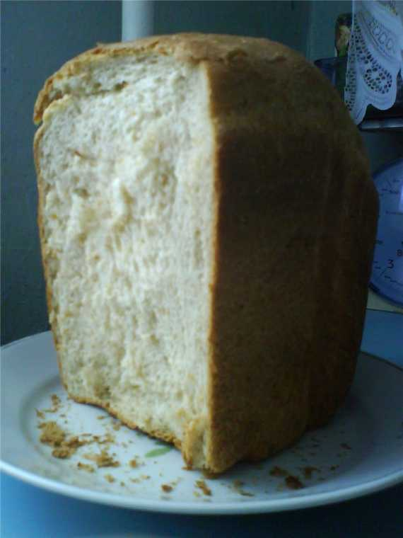 Хлеб пшеничный с отрубями «Недиетический» (хлебопечка)