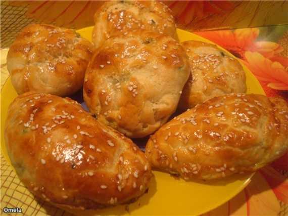 Пирожки греческие