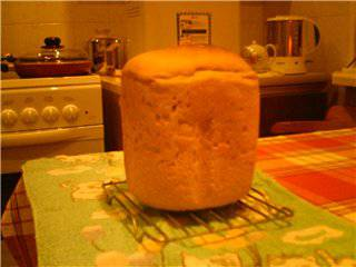 Пшеничный хлеб на тёмном пиве (хлебопечка)