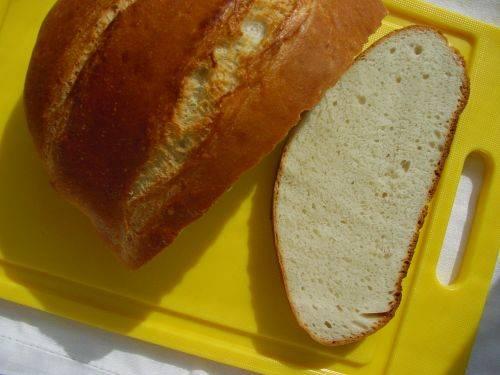 Хлеб на малокислой закваске в духовке