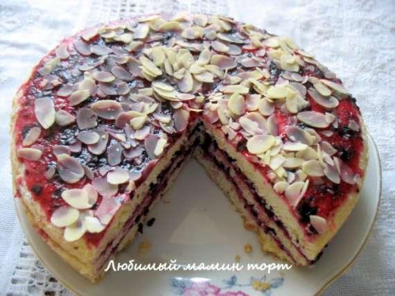 Торт песочный Рижский (La Cucina Italiana YBD50-90)