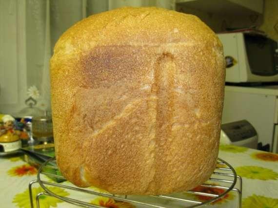 Хлеб молочный в хлебопечке