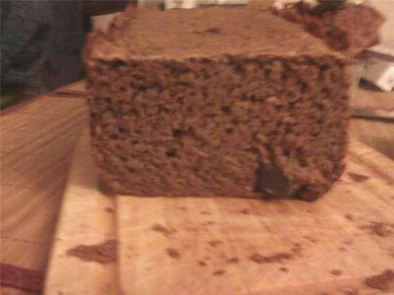Ржаной хлеб с медом (хлебопечка)