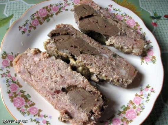 Печень в форме