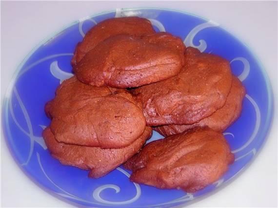 Печенье шоколадное  Десертное