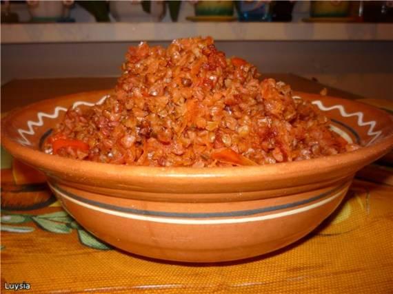 Гречка с овощами «Красная горка» Гречка с овощами «Красная горка»