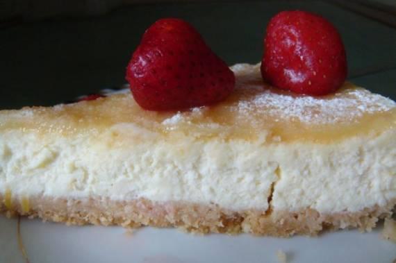 Манго-кокосовый чизкейк (Mango-Kokos-Cheesecake)