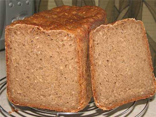 """Хлеб пшенично-гречневый """"Бананы в какао"""""""