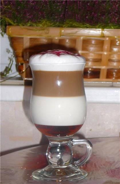 Слоистый кофе – Латте Макиато