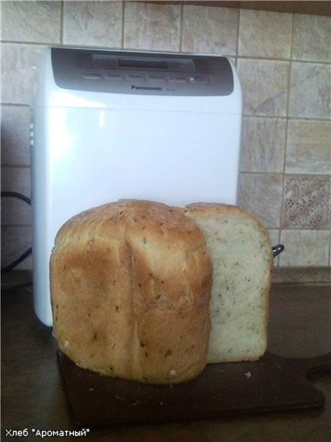 Хлеб Ароматный по Травкински (хлебопечка)