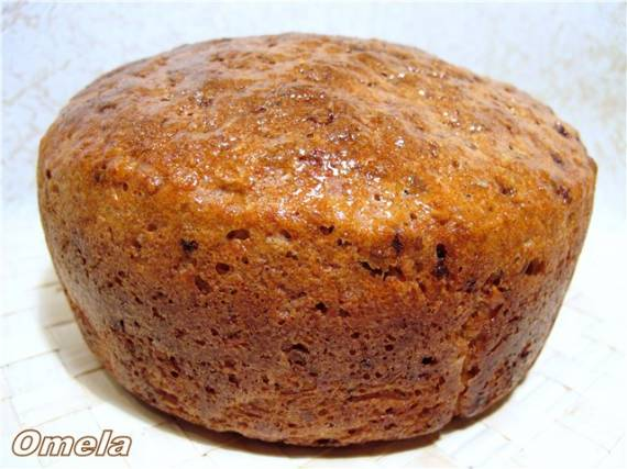 Хлеб пшенично-ржаной Фитнес (хлебопечка)