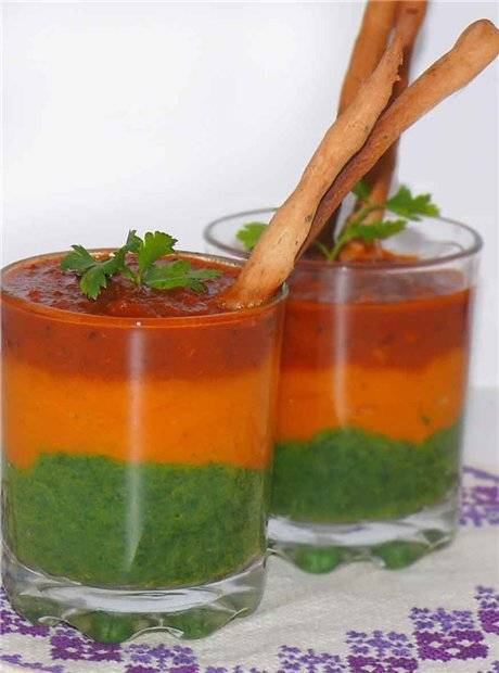 Суп-пюре овощной Овощной суп-пюре «Дорогу весне!»