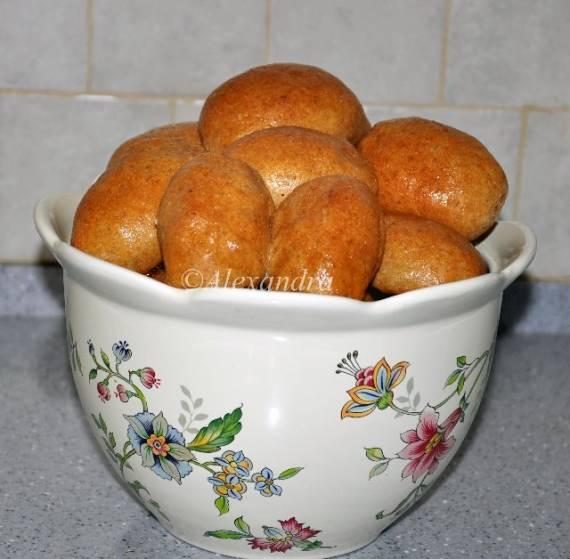 Пирожки с капустой цельнозерновые