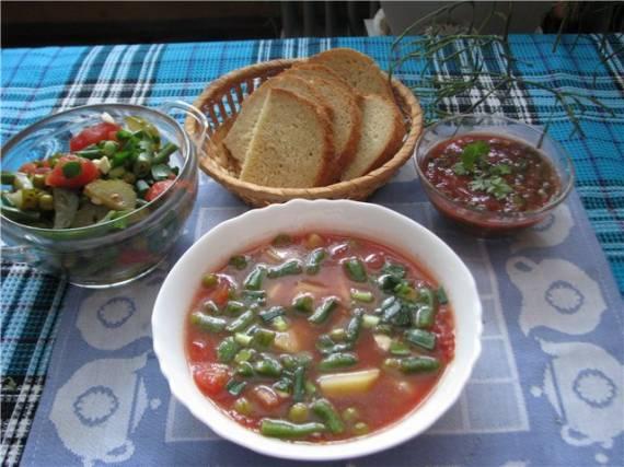 Салат-суп-соус «Три желания»