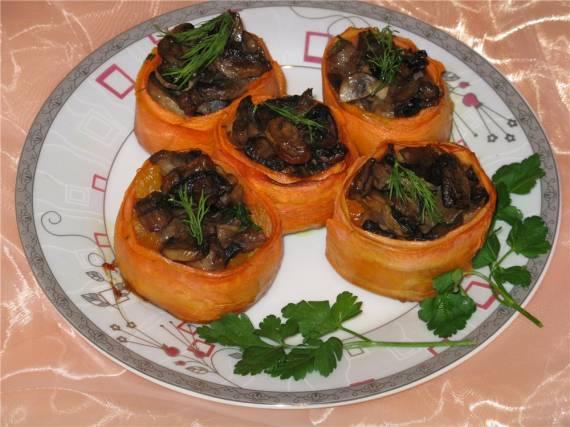 Оранжевые лукошки