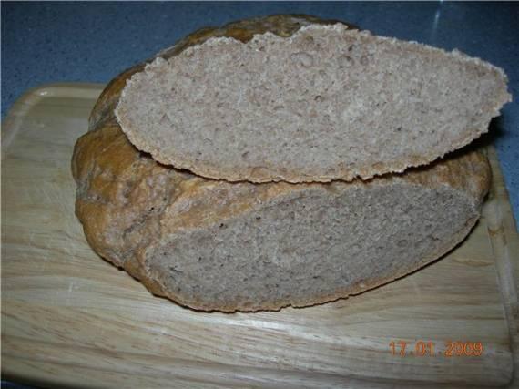 Хлеб забайкальский на закваске