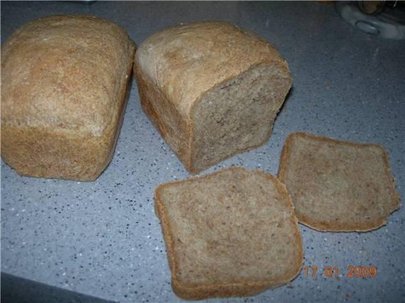 Хлеб из диспергированного зерна