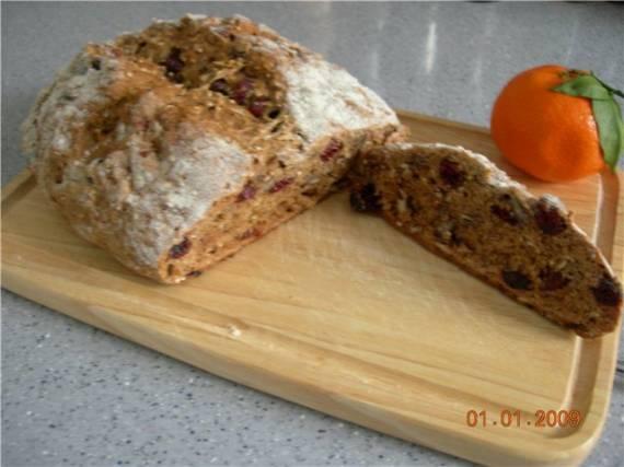 Ирландский овсяный содовый хлеб-диетическая версия