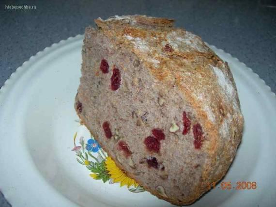 Хлеб на цельнозерновой закваске