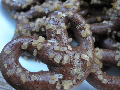 Печенье Шоколадные крендели