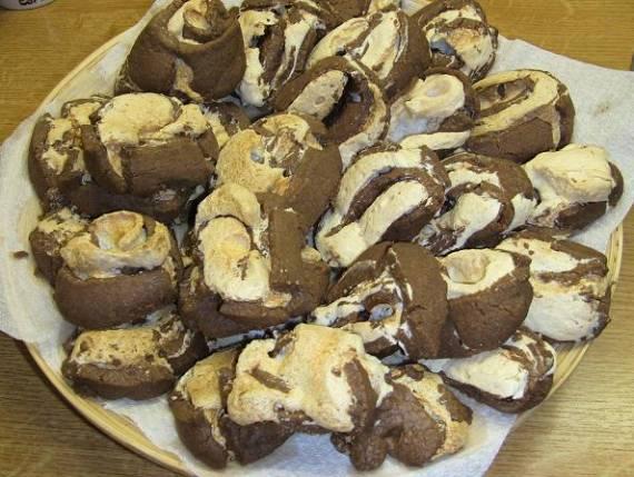 Печенье Шоколадные спиральки