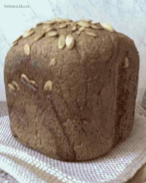 Хлеб пшенично-ржаной (три вида муки) в ХП