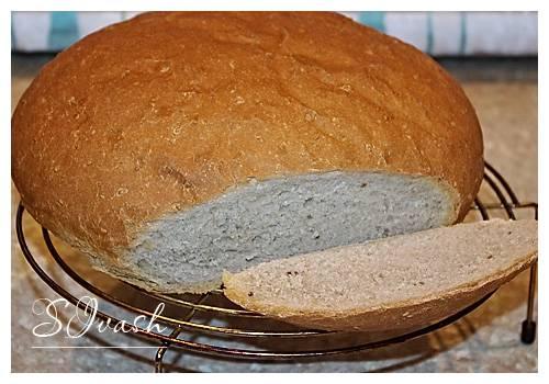 Пшеничный цельнозерновой хлеб с кунжутом