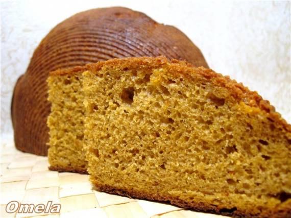 Хлеб тыквенный на ржаной закваске