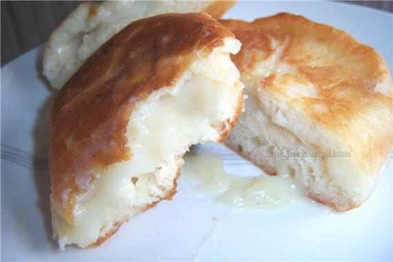 Пончики ереванские с заварным кремом