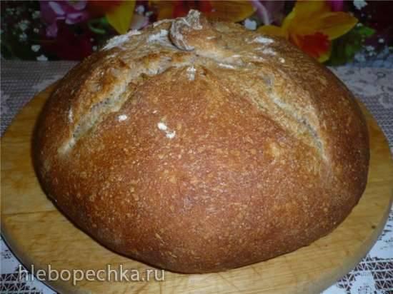 Галисийский хлеб в духовке Галисийский хлеб в духовке