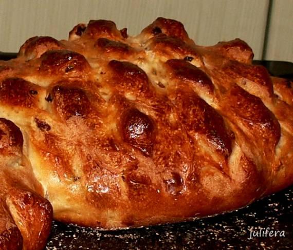 Хлеб Дикобраз на опаре (духовка)