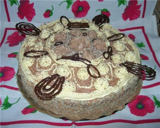 Торт «Фрезье» с киви