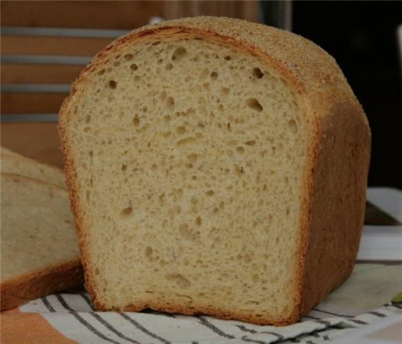 """""""Тигровый"""" хлеб."""