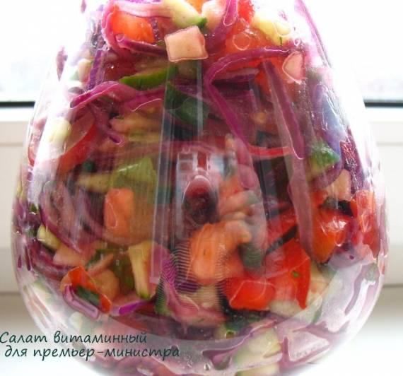 """""""Всесезонный"""" витаминный салат"""