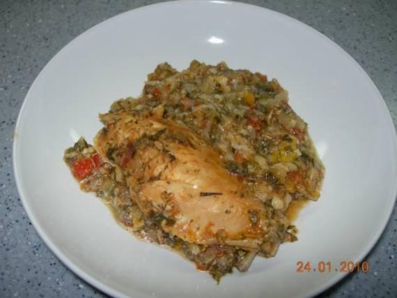Курица в итальянском стиле