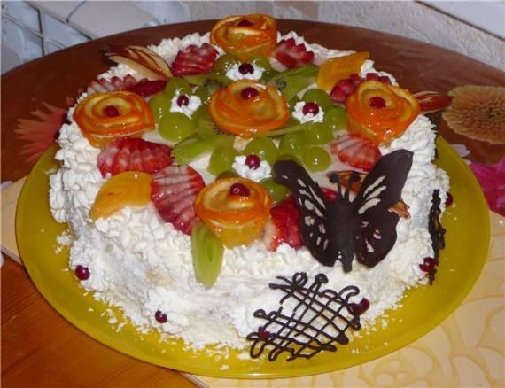 Торт Подарок маме