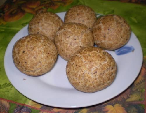 Еврейские пасхальные булочки из мацовой муки Еврейские пасхальные булочки из мацовой муки