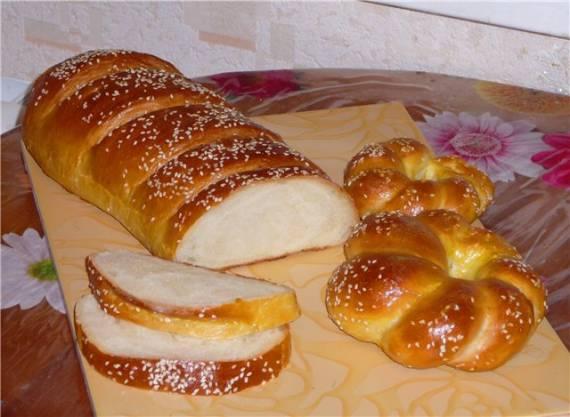 Пшеничный хлебушек (духовка)