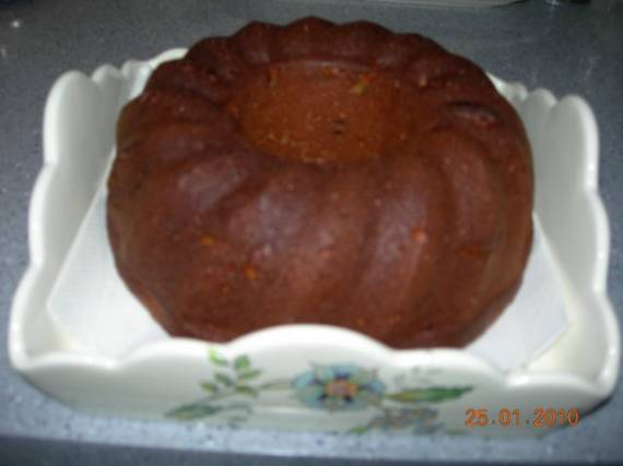 Тыквенный кекс с имбирем