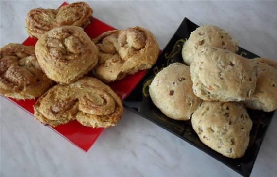 Плюшки и булочки «А-ля пирожки для ленивых».
