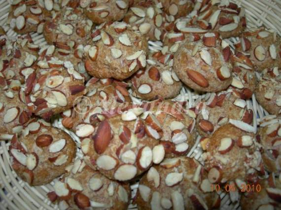 Ореховое печенье цельнозерновое