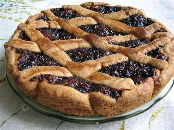 Польский пирог с крыжовником